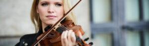 Geigerin buchen – Violinistin Lara