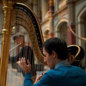 Harfenist buchen – Harfenist Viktor
