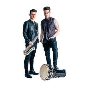 Musikduo buchen Berlin – Duo Sax'n'Percussion