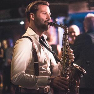 Saxophonspieler buchen Berlin – Saxophonist Ben